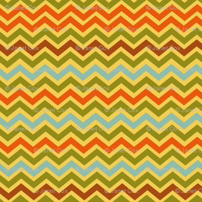 Childhood Vacation Retro Chevron