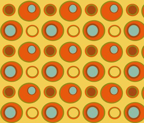 Childhood Vacation Retro Blobbies fabric by jozanehouse on Spoonflower - custom fabric