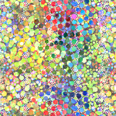 Shattered Light Spectrum Dots fabric by joanmclemore on Spoonflower - custom fabric