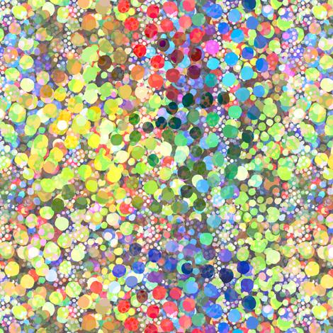 Shattered Light Spectrum Dots fabric by joanmclemore on Spoonflower - custom fabric