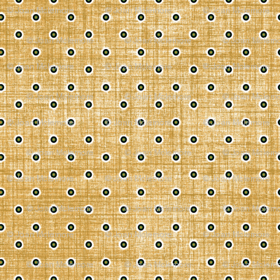 Dots on linen