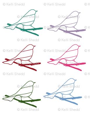 Multicolored Chicklettes