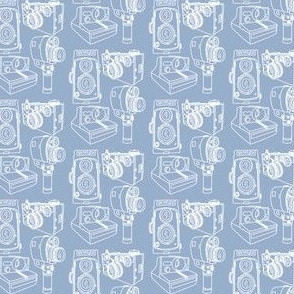 Cameras Blue Periwinkle