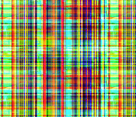 Grunge Plaid fabric by whimzwhirled on Spoonflower - custom fabric