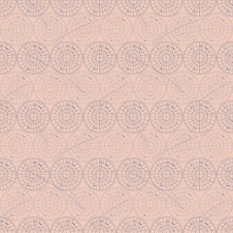 Comets fabric by gillianmariel on Spoonflower - custom fabric
