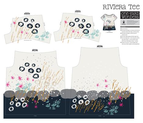 Wee Sea Tee fabric by weegallery on Spoonflower - custom fabric