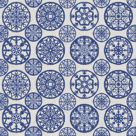 lace_porcelain fabric by kirpa on Spoonflower - custom fabric