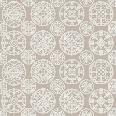 Lace porcelain fabric by the_window_way_(kirpa) on Spoonflower - custom fabric