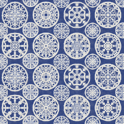 lace_delft fabric by kirpa on Spoonflower - custom fabric