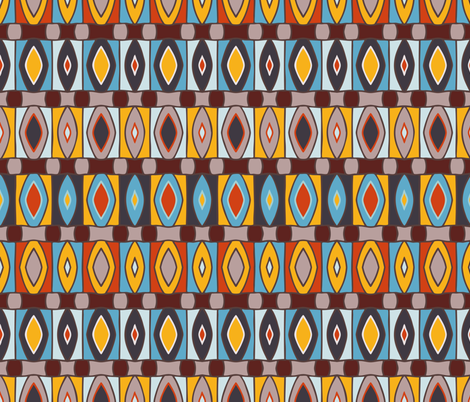 Bold Diamonds fabric by jumeaux on Spoonflower - custom fabric