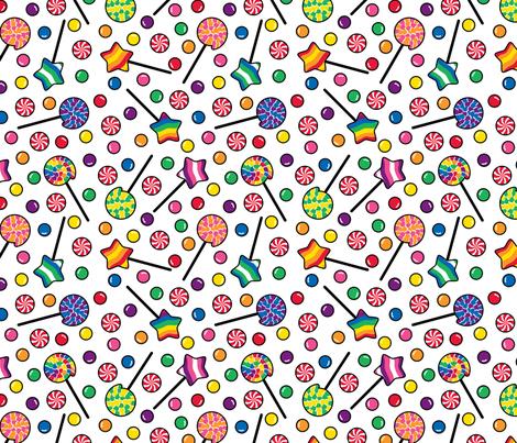 Sugar Rush fabric by modgeek on Spoonflower - custom fabric