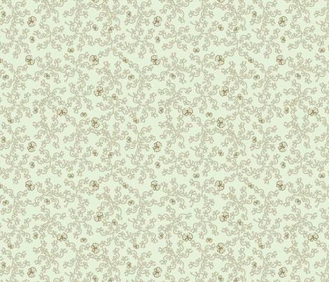 mint_butterfly_arrows fabric by glimmericks on Spoonflower - custom fabric