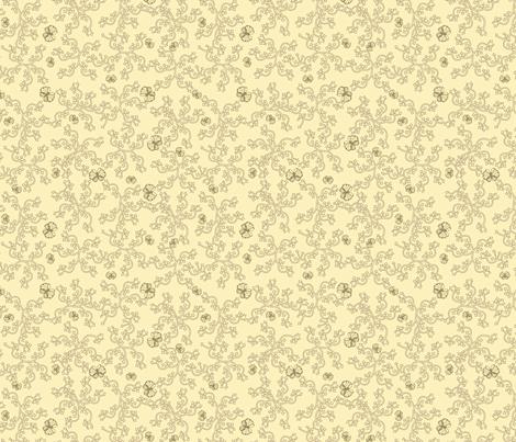 buttercream_butterfly_arrows fabric by glimmericks on Spoonflower - custom fabric