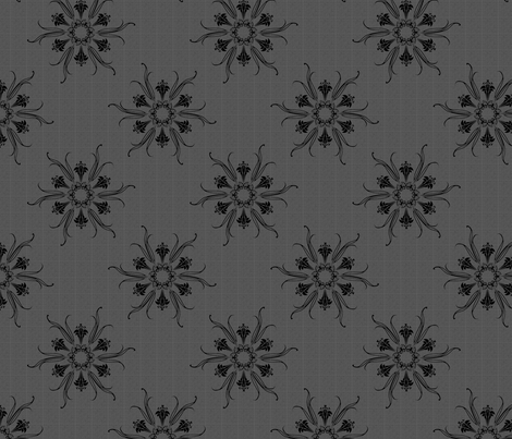 butterflakes sophisticated lady fabric by glimmericks on Spoonflower - custom fabric