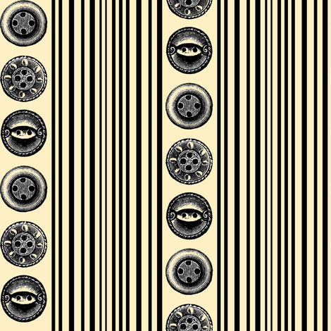 buttons fabric by poshcrustycouture on Spoonflower - custom fabric