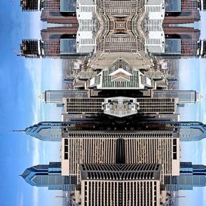 Mirrored Philadelphia Skyline (larger)