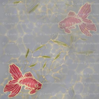 Koi Fish Batik