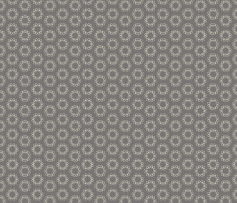 butterflakes_dots_silver fabric by glimmericks on Spoonflower - custom fabric