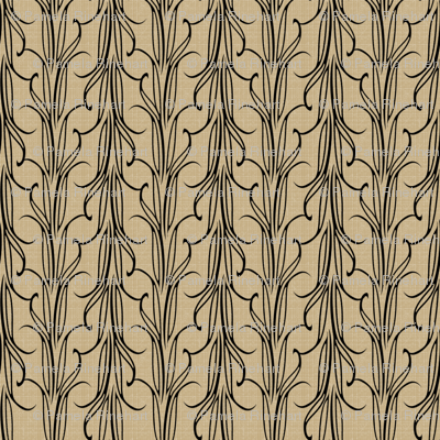 lily_leaf_black_on_beige