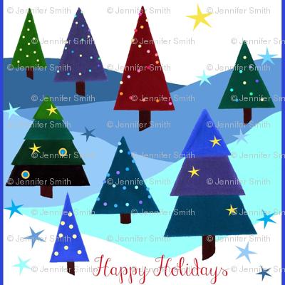 Festive Lights - Happy Holidays