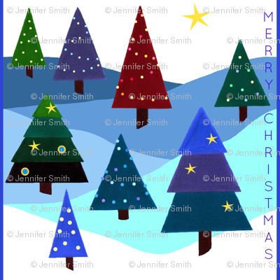 Festive Lights - Merry Christmas
