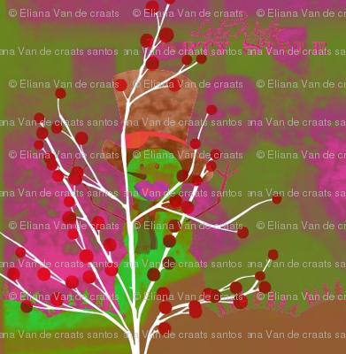 Iacy Lady Winter by evandecraats nov 25 2012 pink