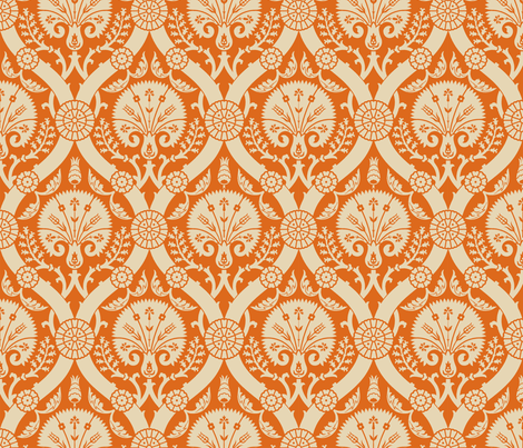 Damask VA 3a2 fabric by muhlenkott on Spoonflower - custom fabric