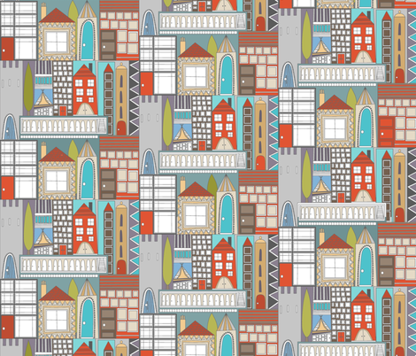 reside fabric by scrummy on Spoonflower - custom fabric