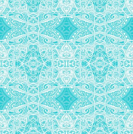 Let It Snow, Let It Snow, Let It Snow fabric by edsel2084 on Spoonflower - custom fabric