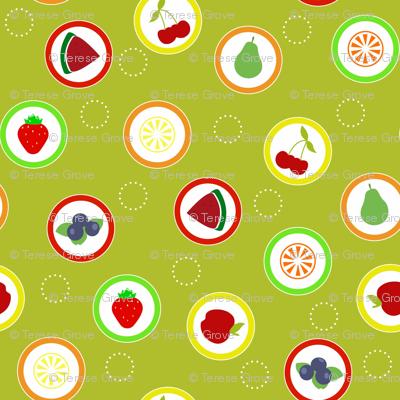 Hard Fruit Candy Citrus