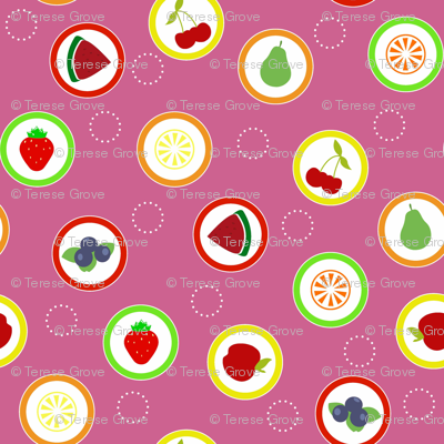 Hard Fruit Candy Pink
