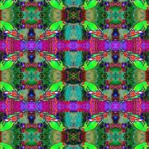 Stained Glass Bird 2