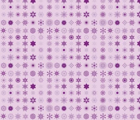 snowflake-purple fabric by bwelbes on Spoonflower - custom fabric