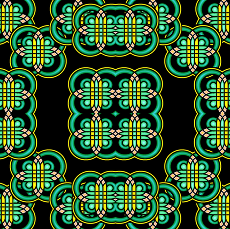 rangoli 1 fabric by y-knot_designs on Spoonflower - custom fabric
