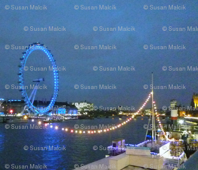 London Eye from across the Thames