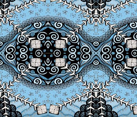 ATC_xmas_snowflake_col FQ fabric by kalona_creativity on Spoonflower - custom fabric