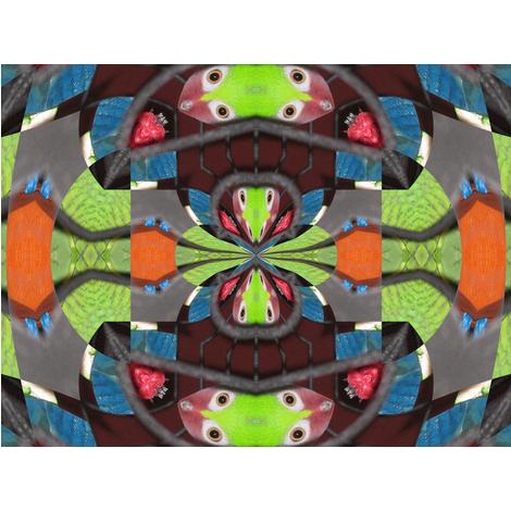 Kaleidescope K4 3646 fabric by wyspyr on Spoonflower - custom fabric