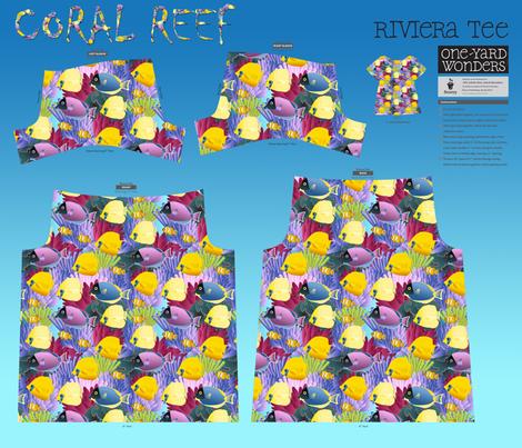 Coral Reef  fabric by kociara on Spoonflower - custom fabric