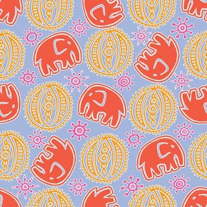 Elephant Tangerine Tango CMYK