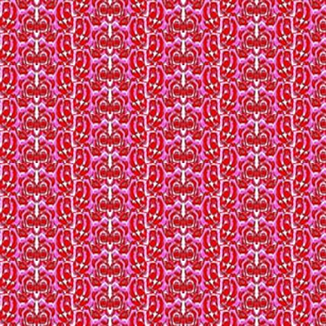 rose stripe fabric by dk_designs on Spoonflower - custom fabric