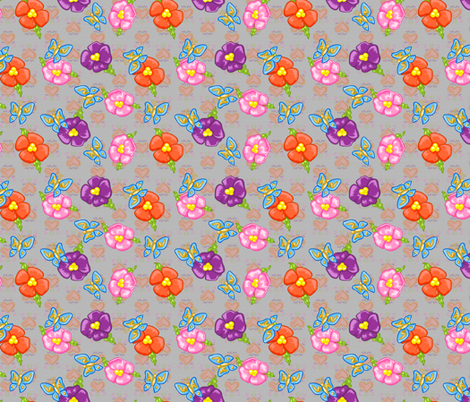 Frida Element Print fabric by boogervampire on Spoonflower - custom fabric