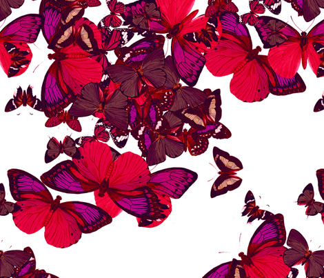 flutter4 fabric by marcador on Spoonflower - custom fabric