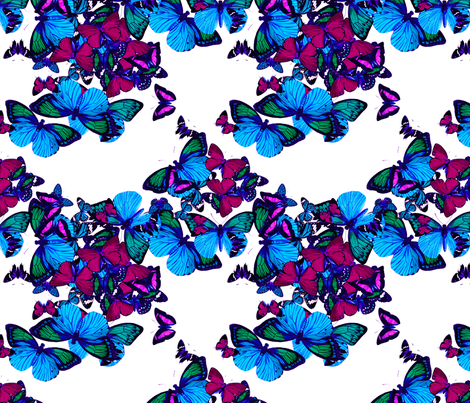 flutter2 fabric by marcador on Spoonflower - custom fabric