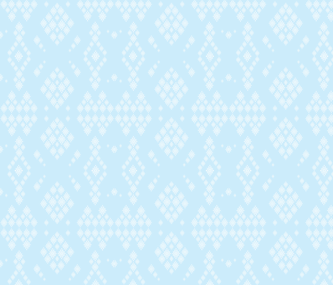 snowflake harlequin fabric by fentonslee on Spoonflower - custom fabric