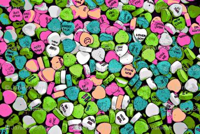 Sweet heart candies