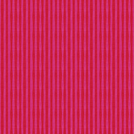 Candy Stripe:Strawberry fabric by spellstone on Spoonflower - custom fabric