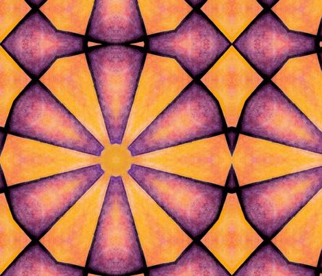 0range-purple-10 FQ fabric by kalona_creativity on Spoonflower - custom fabric
