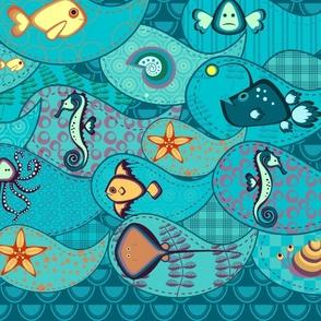 Under the sea pattern