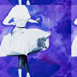 Violet Vibes Tiled