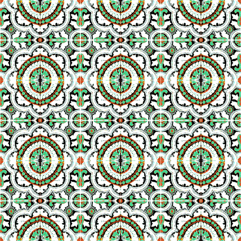Alcazar fabric by marcador on Spoonflower - custom fabric